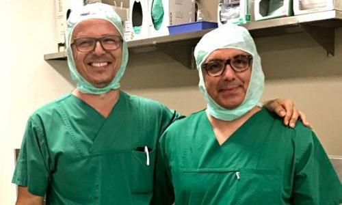 Prof Dr. Med Robert Hube and Dr. Med. George Goudelis SANA CLINIC MUNCHEN GERMANY